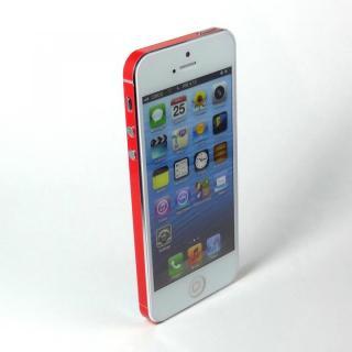 【iPhone SE/5s/5ケース】SPDeCO iPhone5 サイドシール/ルビー