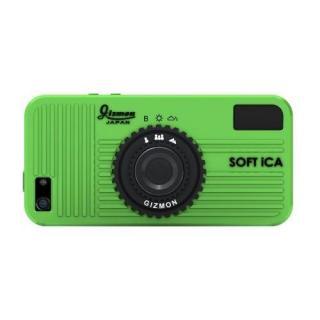 【iPhone SE/5s/5ケース】GIZMON SOFT iCA iPhone SE/5s/5 グリーン