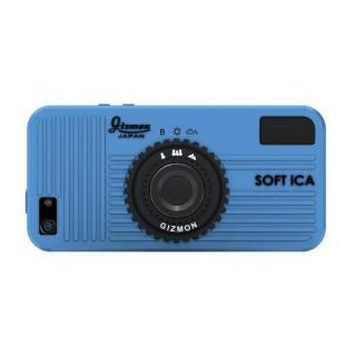 【iPhone SE/5s/5ケース】GIZMON SOFT iCA iPhone SE/5s/5 ブルー