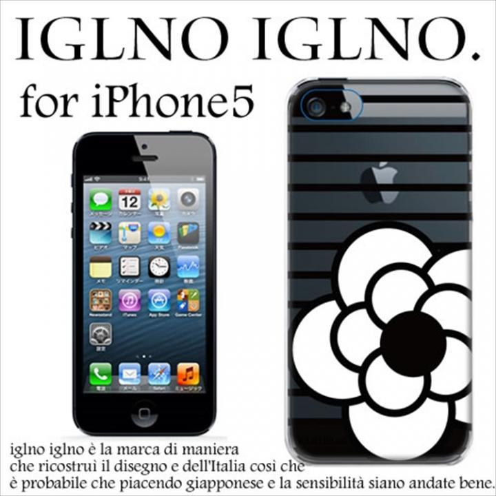 【iPhone SE/5s/5ケース】iglno iglno.camellia iPhone SE/5s/5ケース clear_0