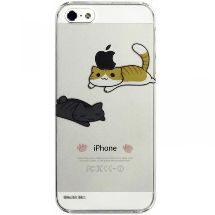 【iPhone SE/5s/5ケース】iPhone SE/5s/5 にゃいふぉんケース ねそべり_0