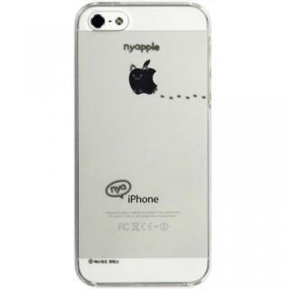 iPhone SE/5s/5 にゃいふぉんケース あしあと