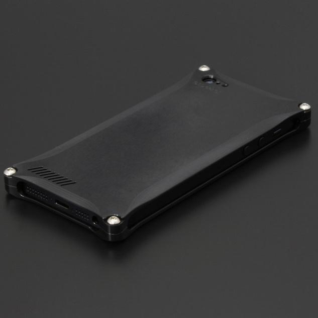 iPhone SE/5s/5 ケース ギルドデザイン ソリッドケース マットブラック iPhone 5_0
