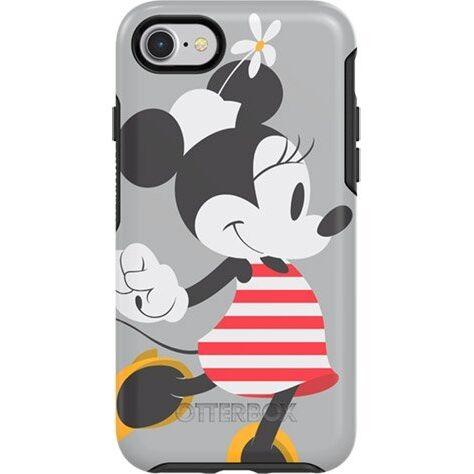 iPhone8/7 ケース OB-Symmetry ディズニー ミッキーマウスケース Stripes Graphic iPhone SE2/8/7【2月上旬】_0