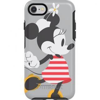 iPhone SE 第2世代 ケース OB-Symmetry ディズニー ミッキーマウスケース Stripes Graphic iPhone SE2/8/7【2月上旬】