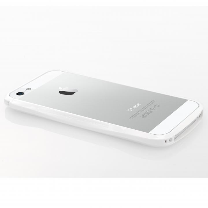 【iPhone SE/5s/5ケース】CLEAVE Bumper  iPhone SE/5s/5 Crystal Edition Silky White_0