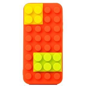 Block Case  iPhone SE/5s/5 オレンジ