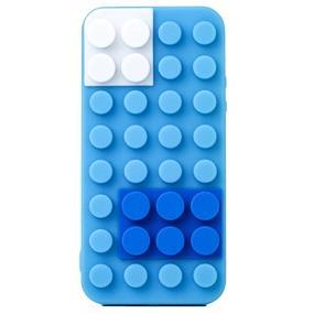 Block Case  iPhone SE/5s/5 ブルー