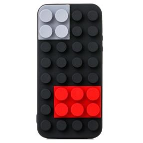 【iPhone SE/5s/5ケース】Block Case  iPhone SE/5s/5 ブラック_0