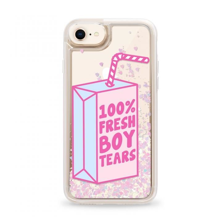 iPhone8 ケース Casetify FRE.BOY TEAR Glitter case iPhone SE 第2世代/8_0