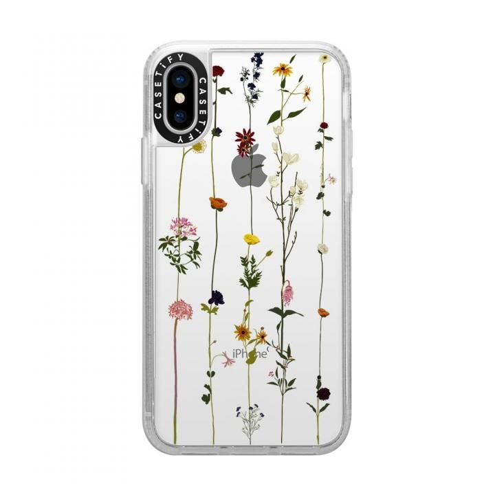 iPhone XS/X ケース Casetify FLORAL grip clear iPhone XS/X_0