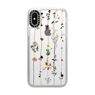 【iPhone XS/Xケース】Casetify FLORAL grip clear iPhone XS/X