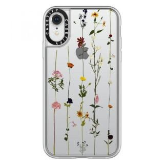 【iPhone XRケース】Casetify FLORAL grip clear iPhone XR