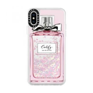 iPhone XS/X ケース Casetify FEMME EAU DE 2 glitter pastel pink iPhone XS/X