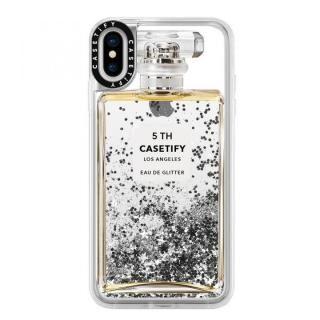 iPhone XS Max ケース Casetify MISS PERFUME 2 glitter silver iPhone XS Max