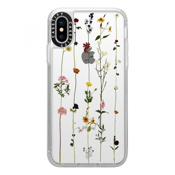 【iPhone XS Maxケース】Casetify FLORAL grip clear iPhone XS Max_0