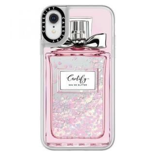 iPhone XR ケース Casetify FEMME EAU DE 2 glitter pastel pink iPhone XR
