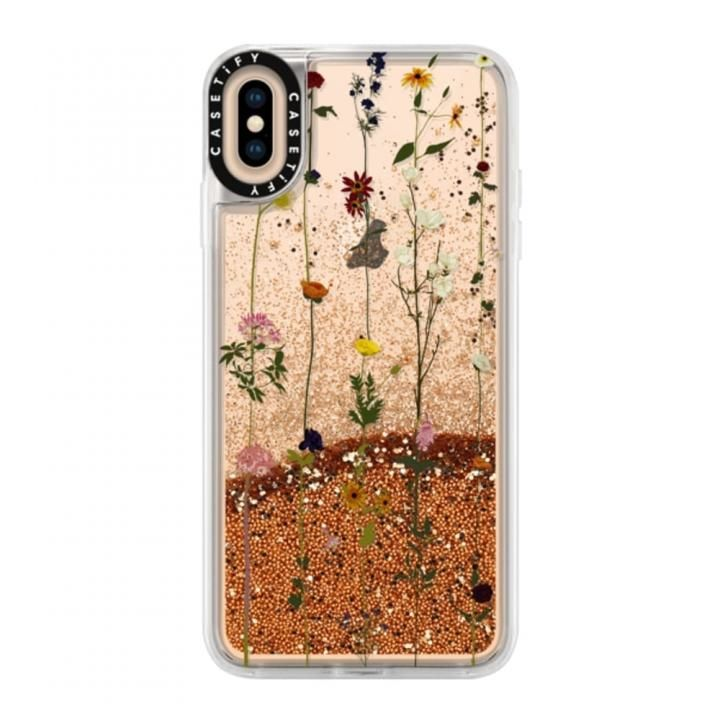 iPhone XS Max ケース Casetify Floral Glitter case iPhone XS Max_0
