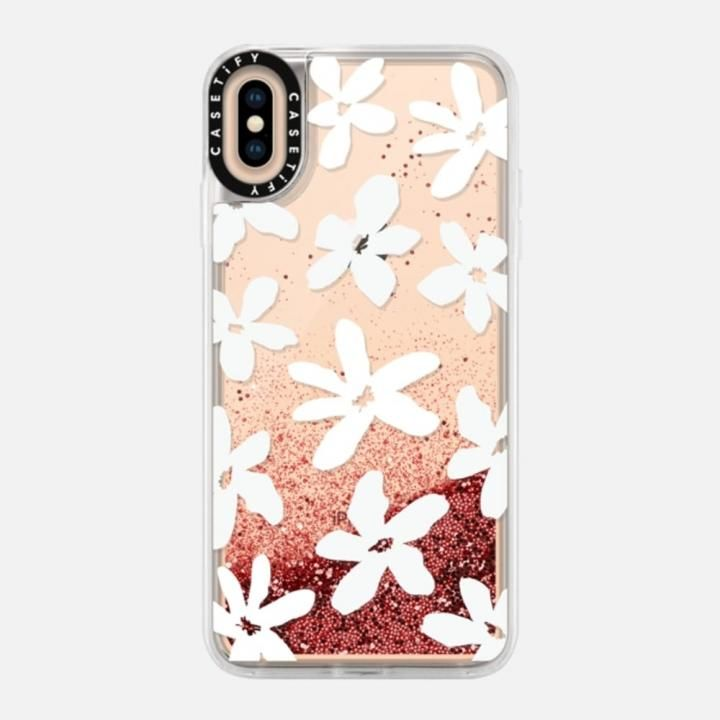 iPhone XS Max ケース Casetify Flossy by Home-Work Glitter case iPhone XS Max_0