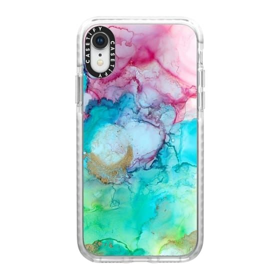 【iPhone XRケース】Casetify Mermaid Water Grip Case iPhone XR_0