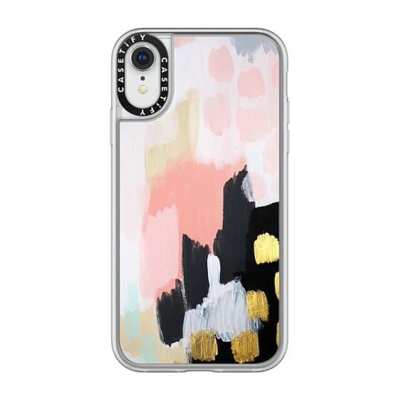 iPhone XR ケース Casetify Footprints Grip Case iPhone XR_0