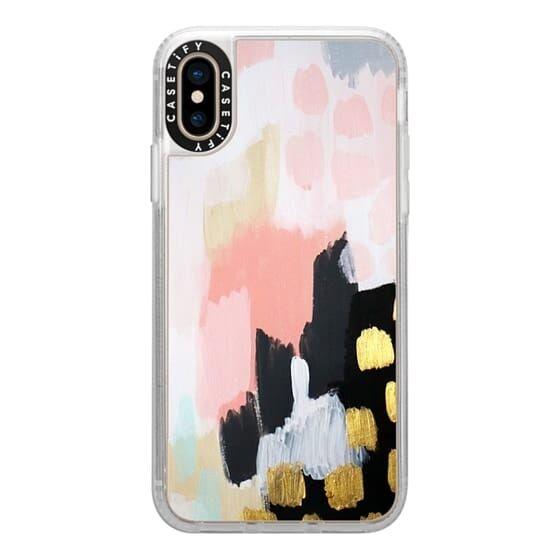 iPhone XS ケース Casetify Footprints Grip Case iPhone XS_0