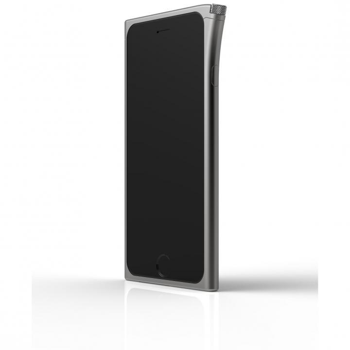 【iPhone6ケース】アルミバンパー U rolett  スペースグレー iPhone 6_0