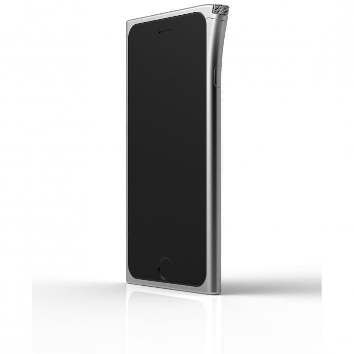 【iPhone6ケース】アルミバンパー U rolett  シルバー iPhone 6_0