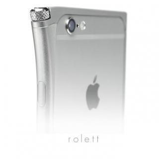 【iPhone6ケース】アルミバンパー U rolett  シルバー iPhone 6_1