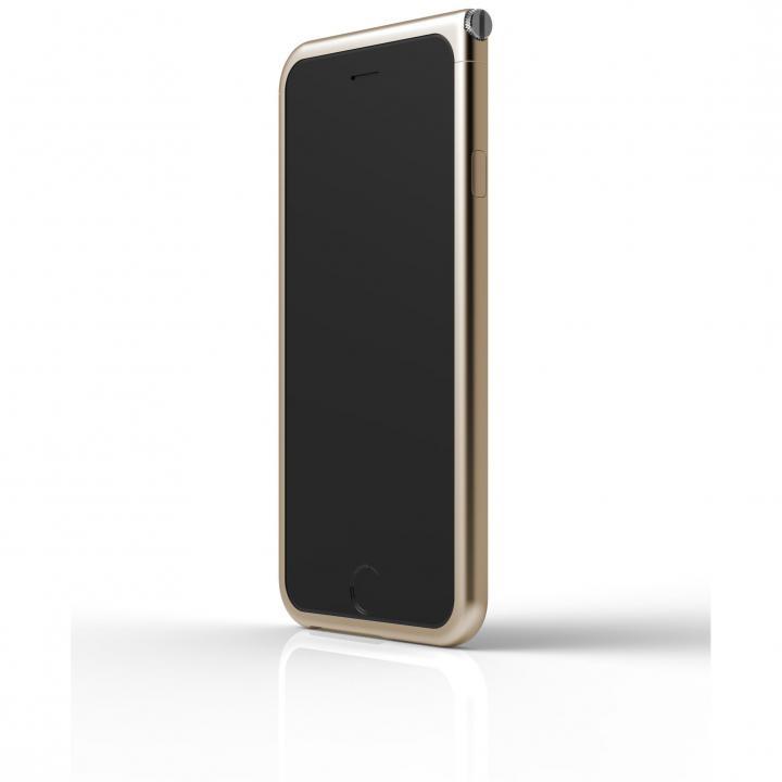 アルミバンパー U Nook  ゴールド iPhone 6