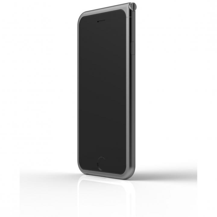 【iPhone6ケース】アルミバンパー U Nook  スペースグレー iPhone 6_0