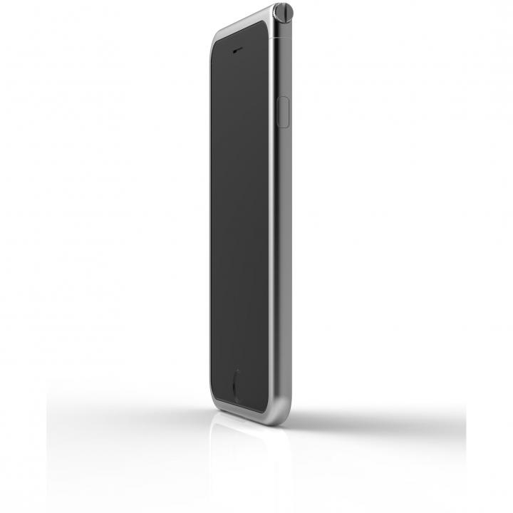 iPhone6 ケース アルミバンパー U Nook  シルバー iPhone 6_0