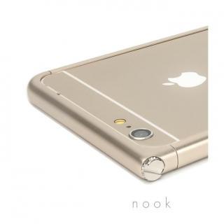 【iPhone6ケース】アルミバンパー U Nook  シルバー iPhone 6_1