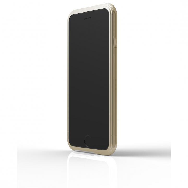【iPhone6ケース】アルミバンパー U layer  ゴールド iPhone 6_0