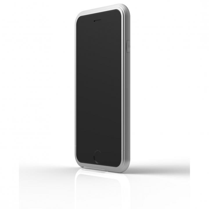【iPhone6ケース】アルミバンパー U layer  シルバー iPhone 6_0