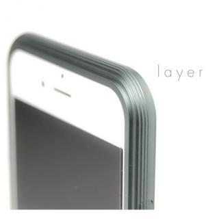 【iPhone6ケース】アルミバンパー U layer  シルバー iPhone 6_1
