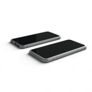 【iPhone6ケース】アルミバンパー U layer  シルバー iPhone 6_3