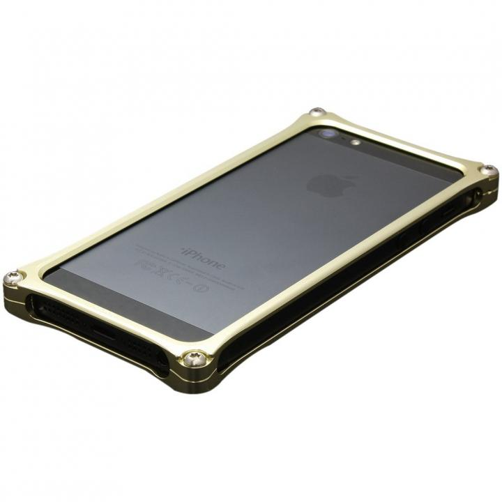Solid Bumper for iPhone5s/5 ゴールド