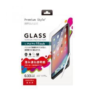 Premium Style 液晶保護ガラス スーパークリア 11インチ iPad Pro 2020/2018