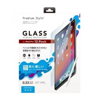 Premium Style 液晶保護ガラス ブルーライト 12.9インチ iPad Pro 2020/2018【11月上旬】