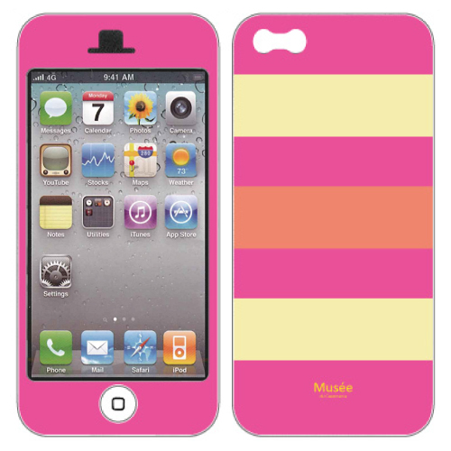 iPhone SE/5s/5 ケース iPhone5 NanoSkin coloful border 02_0