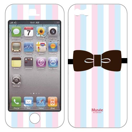iPhone SE/5s/5 ケース iPhone5 NanoSkin colorful tie_0