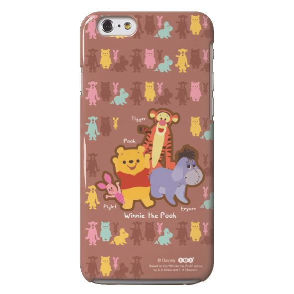 【iPhone6s/6ケース】Noriya Takeyama ディズニーケース Pooh FRIENDS iPhone 6s/6_0