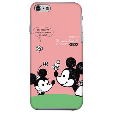 ShinziKatohDesign ディズニーケース ミッキー&ミニー iPhone 6