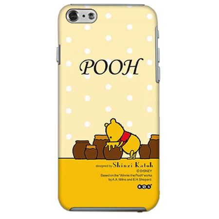【iPhone6ケース】ShinziKatohDesign ディズニーケース プーさん 黄色 iPhone 6_0