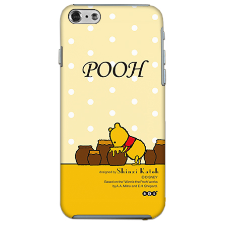 ShinziKatohDesign ディズニーケース プーさん 黄色 iPhone 6