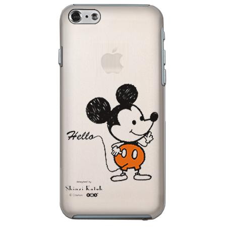 【iPhone6ケース】 ShinziKatohDesign ディズニーケース ミッキー クリア iPhone 6_0