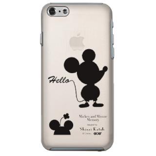 ShinziKatohDesign ディズニーケース ミッキー&ミニー シルエット クリア iPhone 6s/6