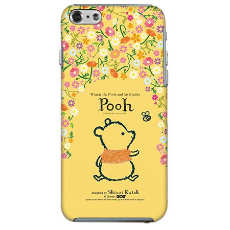 ShinziKatohDesign ディズニーケース プーさん 花柄 iPhone 6
