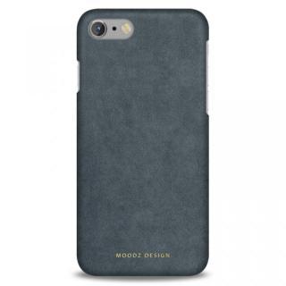 スエード調人造皮革アルカンターラケース Moodz Design グレイ iPhone 7
